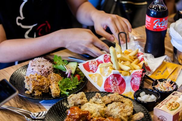 Nene Chicken food Melbourne