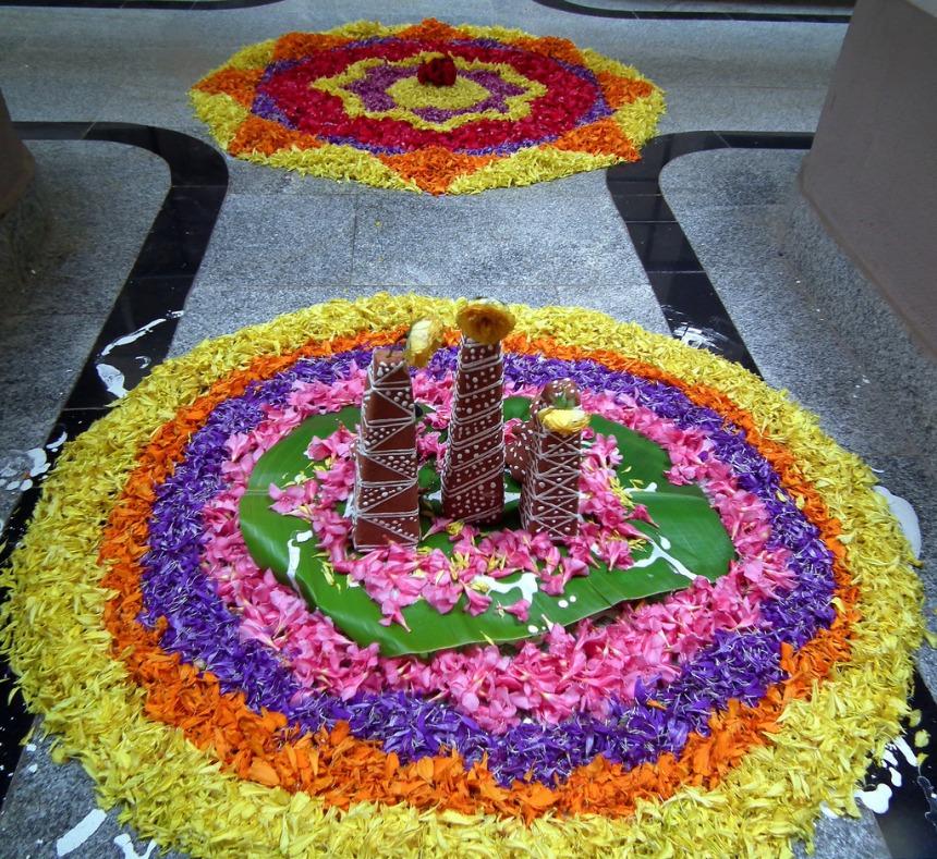 Onam Flower festival