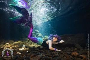 Queen's bath underwater shoot